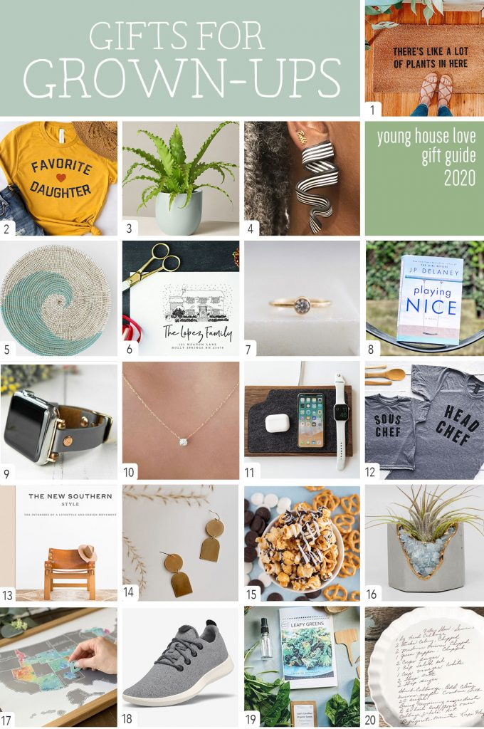 Gifts For Grown Ups Graphic Collage