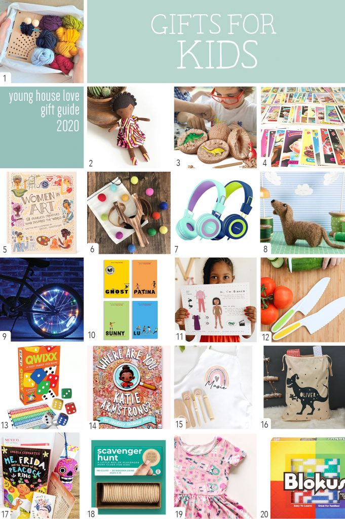 Gifts For Kids Collage Graphic